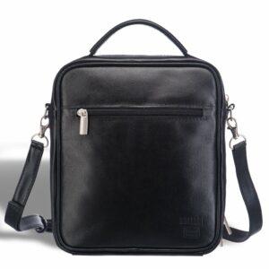 Удобная черная мужская сумка через плечо BRL-12935 227904