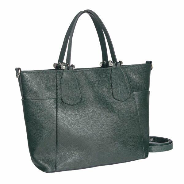 Кожаная женская сумка через плечо BRL-47278