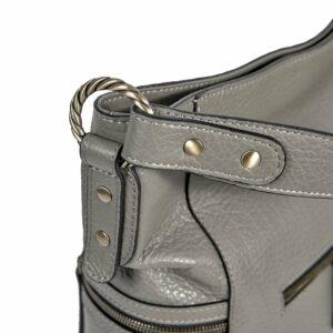Функциональная серая женская сумка через плечо BRL-47451 229806