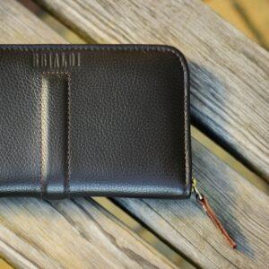 Уникальный коричневый мужской портмоне клатч BRL-26760 228477