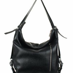 Вместительная черная женская сумка FBR-969 229356