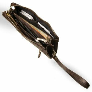 Неповторимый коричневый мужской портмоне клатч BRL-8403 229294