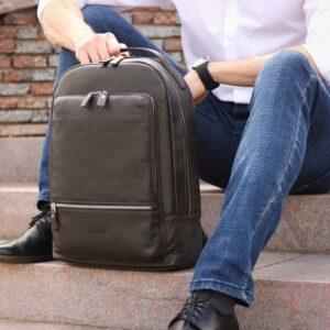 Неповторимый коричневый мужской деловой рюкзак BRL-45796 229265