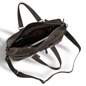 Деловая коричневая дорожная сумка портфель BRL-3288 227617