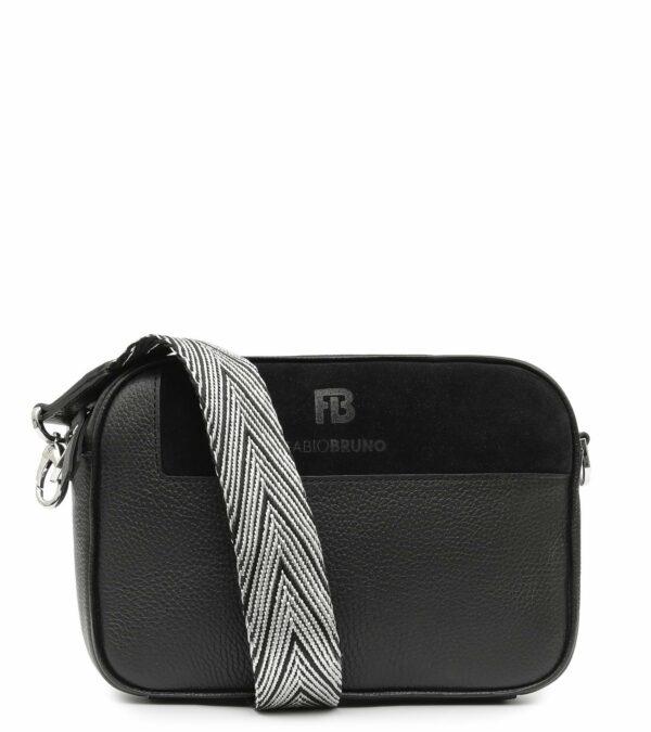Функциональная черная женская сумка через плечо FBR-2397
