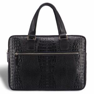 Солидная черная женская деловая сумка BRL-17810 228081