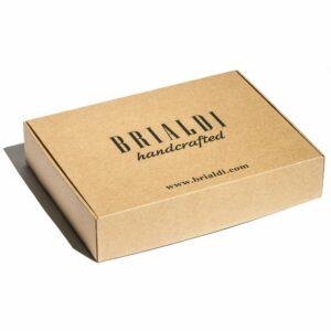 Кожаный коричневый мужской портмоне клатч BRL-28614 228626