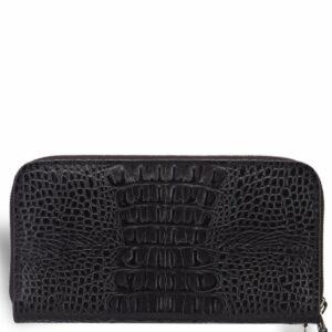 Уникальный черный мужской портмоне клатч BRL-19830 228092