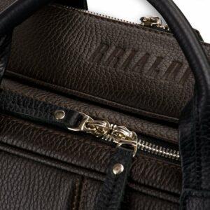 Функциональная коричневая дорожная сумка портфель BRL-23117 228383
