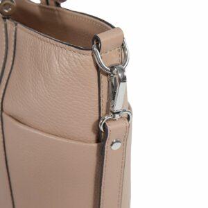 Деловая бежевая женская сумка через плечо BRL-47269 229714