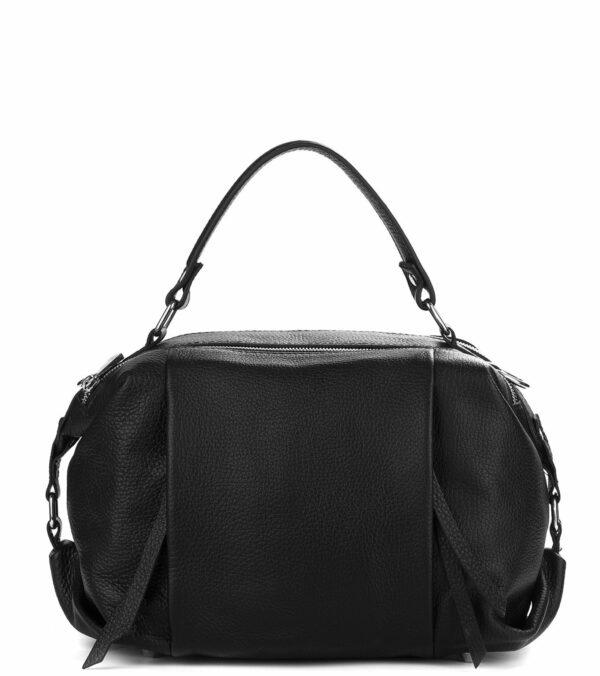 Вместительная черная женская сумка FBR-1779