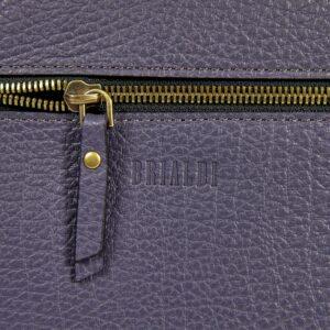 Вместительная фиолетовая женская сумка через плечо BRL-47455 229857
