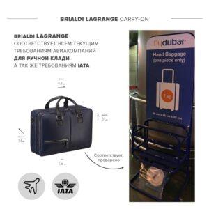 Неповторимая синяя дорожная сумка портфель BRL-23118 228392