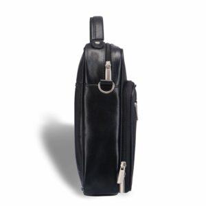 Удобная черная мужская сумка через плечо BRL-12935 227905