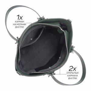 Кожаная женская сумка через плечо BRL-47278 229738