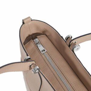 Деловая бежевая женская сумка через плечо BRL-47269 229715