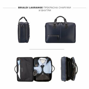 Неповторимая синяя дорожная сумка портфель BRL-23118 228393