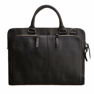 Функциональная черная мужская сумка для документов BRL-779 233422