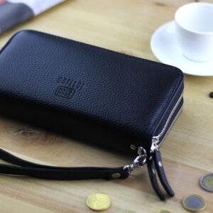 Деловая черная мужская сумка для мобильного телефона BRL-19832 234434
