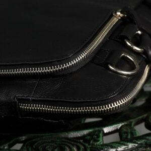 Функциональная черная мужская сумка для документов BRL-779 233447