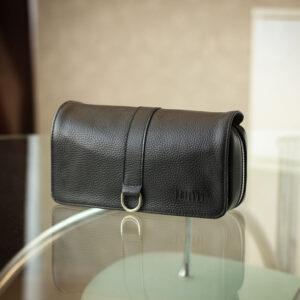 Кожаный черный мужской аксессуар BRL-23312 235218