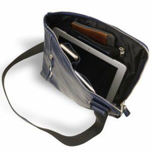 Солидная синяя мужская сумка BRL-7528 233744