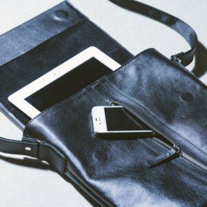 Удобная черная мужская сумка для документов BRL-1021 233489