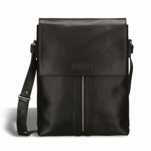 Удобная черная мужская сумка для документов BRL-1021 233457