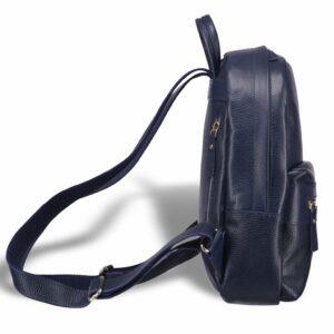 Солидная синяя женская сумка BRL-17483 234346