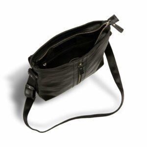 Удобная черная мужская сумка для документов BRL-1021 233463