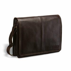 Уникальная коричневая мужская сумка мессенджер BRL-3172