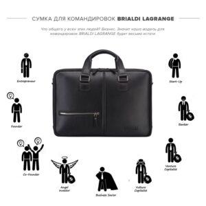 Уникальная черная мужская сумка BRL-23116 234833