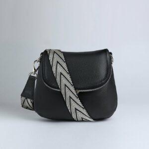 Неповторимая черная женская сумка FBR-973