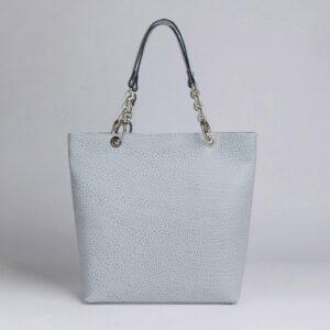 Вместительная голубая женская сумка FBR-2889