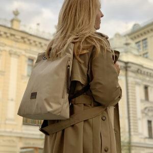 Модная серая женская сумка FBR-2690 236043