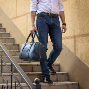 Удобная синяя сумка спортивная BRL-23332 235397