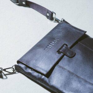 Неповторимая коричневая мужская сумка для документов BRL-132 233328
