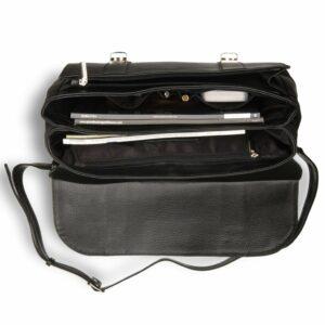 Удобная черная мужская сумка BRL-17441 234287