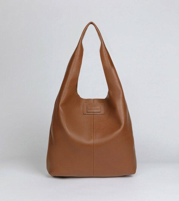 Вместительная коричневая женская сумка FBR-2882
