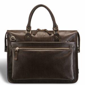Солидная коричневая мужская сумка для документов BRL-12048 233933