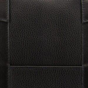 Кожаная черная мужская сумка BRL-9547 233870