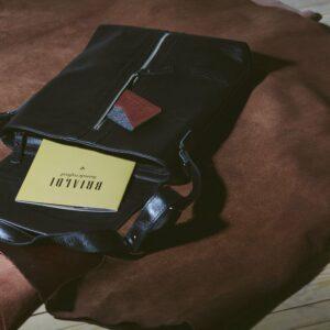 Удобная черная мужская сумка для документов BRL-1021 233478