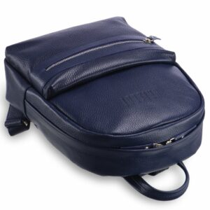 Солидная синяя женская сумка BRL-17483 234354