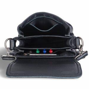 Деловая черная мужская сумка BRL-12991 234137