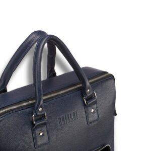 Модная синяя мужская сумка трансформер BRL-23168 235175