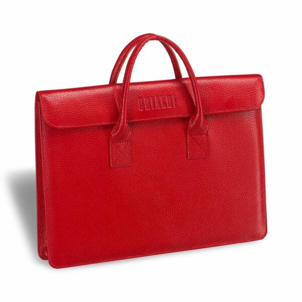 Деловая красная женская деловая сумка BRL-3414