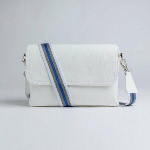 Стильный белый женский клатч FBR-2788