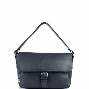 Стильная синяя женская сумка через плечо FBR-2310