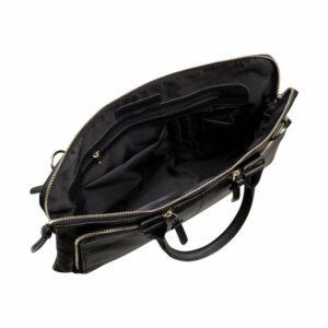 Функциональная черная мужская сумка для документов BRL-779 233428
