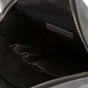 Кожаная серая мужская сумка через плечо FBR-1720 235847